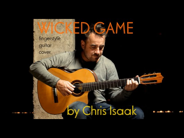 Wicked Game Chris Isaak Fingerstyle Guitar Cover By Soymartino