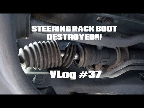 How To Replace WRX Steering Rack Boot