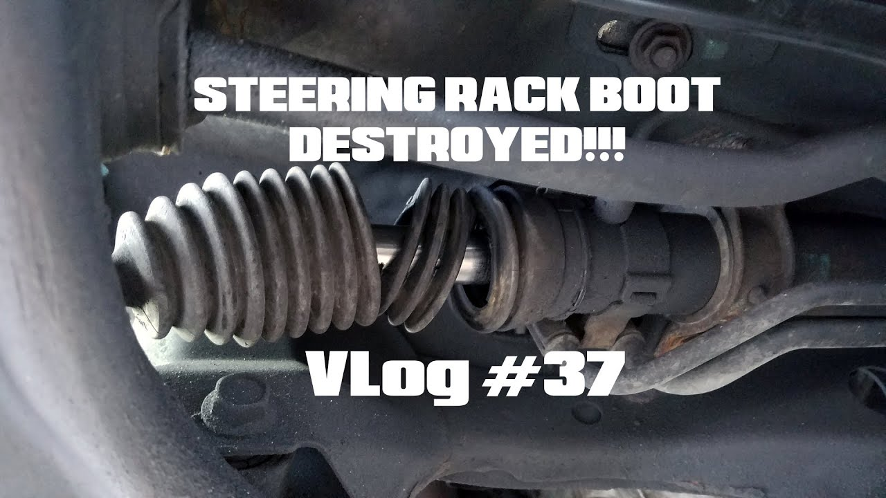 How To Replace WRX Steering Rack Boot - YouTube