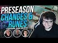 DYRUS - PRESEASON CHANGES & RUNES - ft. Marc Merrill, Scarra, Meteos