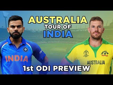 India V Australia, 1st ODI: Preview