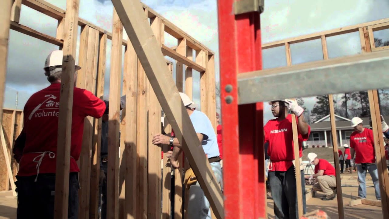 Nissan + Habitat For Humanity Coming Together