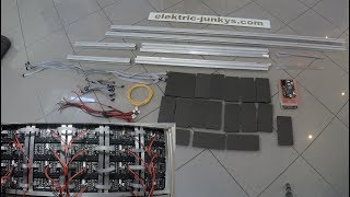 how to build a modular LED Screen P3 High Resolution Low Budget DIY LED Screen Indoor
