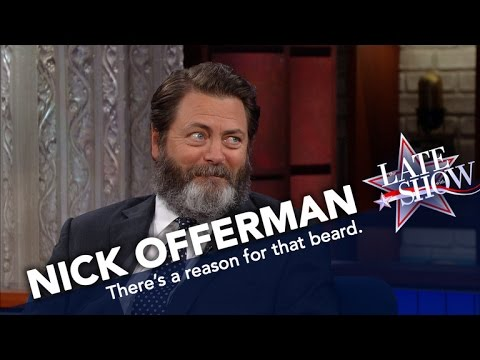 Nick Offerman Hates Shaving