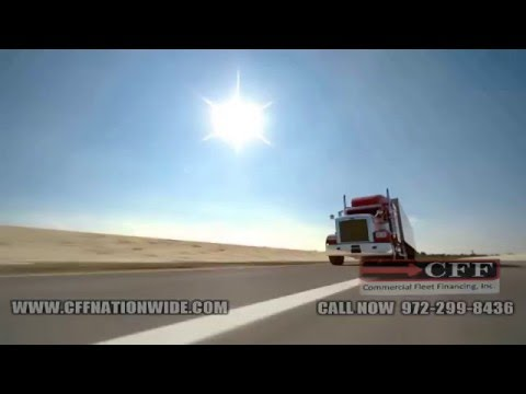 We Finance Big Rig Trucks at Commercial Fleet Financing, Inc.