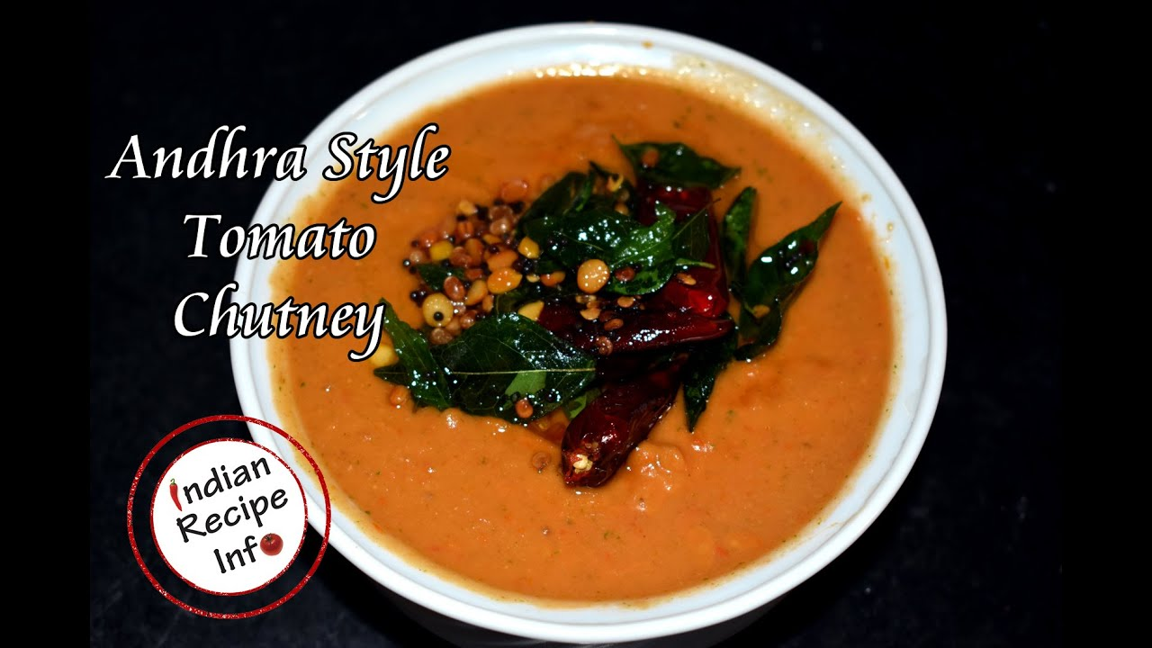 Tomato Chutney Recipe Andhra Style, How To Make Tomato Chutney Recipe for dosa idli, Tomato Chutney