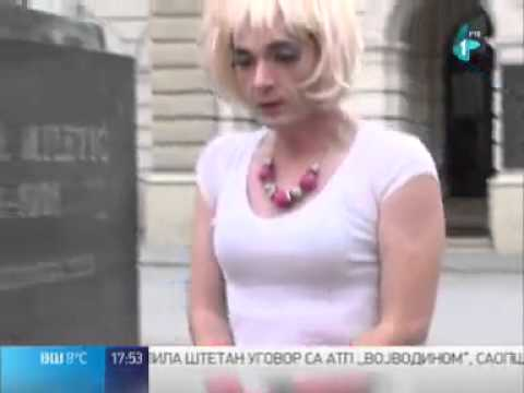 For The First Time Ever !Transgender Day of Remembrance, Serbia, Novi Sad 2014.