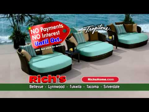 Save Up To 50 Off Patio Furniture At Rich S Seattle Area