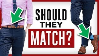 Belt Matching MISTAKES! How To EASILY Match Belts & Shoes EVERY Time