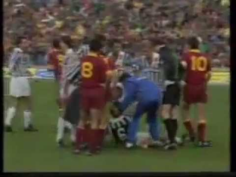Roma - Juventus 3-0 (30.11.1986) 11a Andata Serie A.