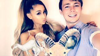 Ariana Grande | Snapchat Videos | July 2016 | ft Victorious Cast