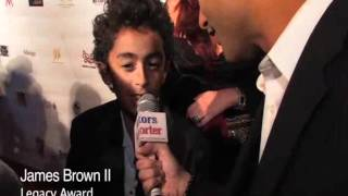 James Brown II Interview w/ Actors Reporter at 5th Annual Hollywood F.A.M.E. Awards