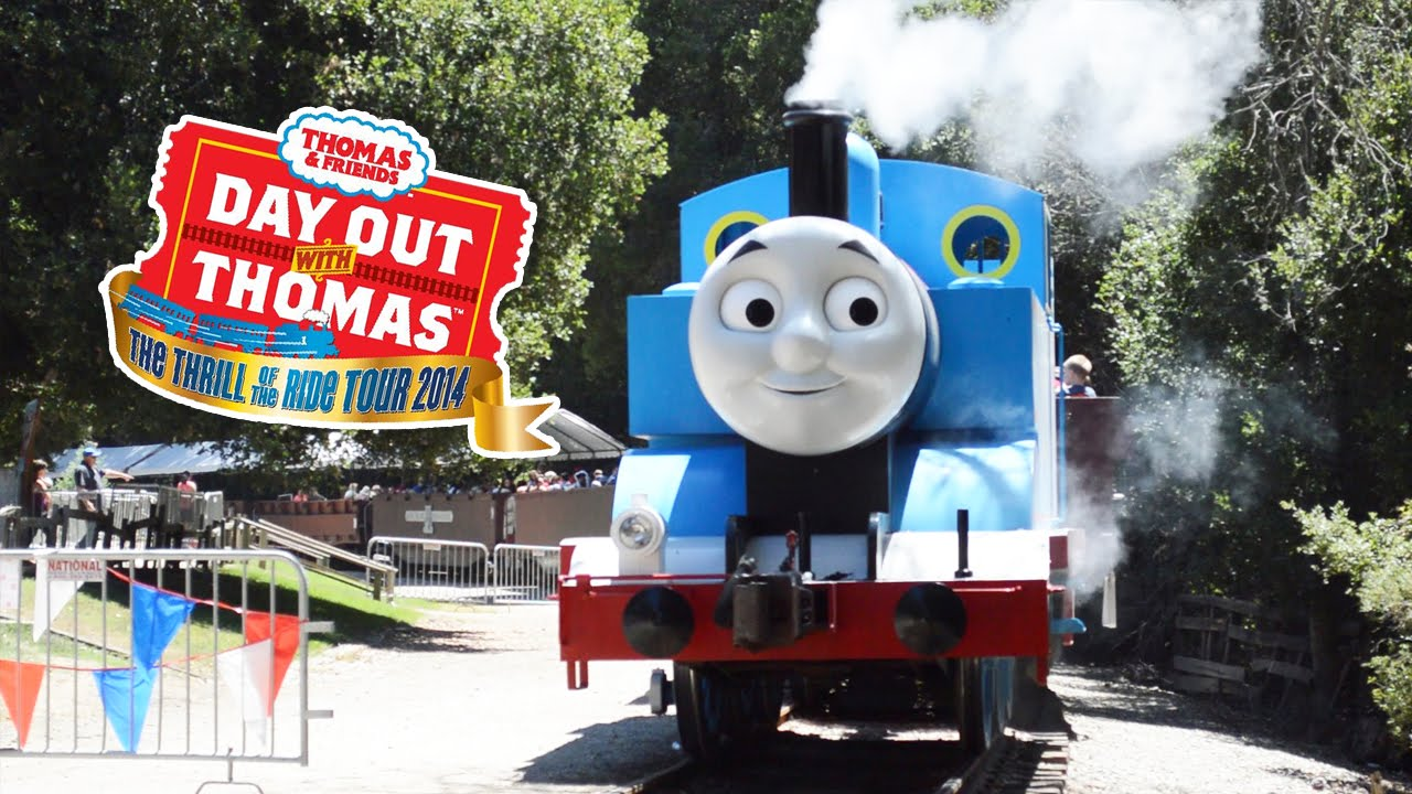 Day Out With Thomas 2014 - Rid...