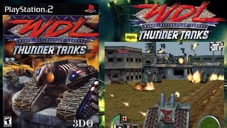 Quick Look | World Destruction League Thunder Tanks (2000) PlayStation 2 HD