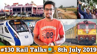 #130 Rail Talks:-10 New Vande Bharat Express In 9 Months,New Tejas Express,Ranchi Station