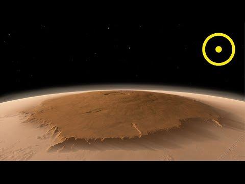 Olympus Mons Volcano   Mars