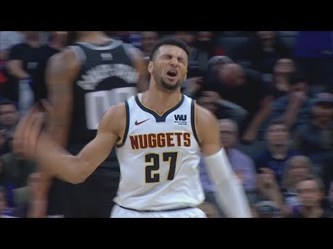 Jamal Murray 17 of 36 Points 4th Quarter vs Kings! 2018-19 NBA Season