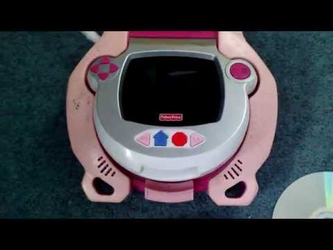 Fisher-Price Kid Tough Portable DVD Player Wont Read Disk (err Disk)