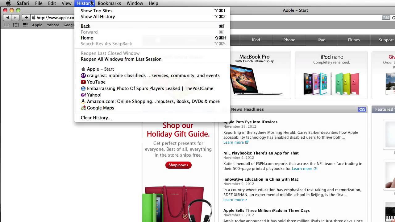 how to reverse delete on mac