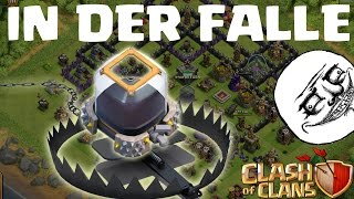 IN DER FALLE! || CLASH OF CLANS || Let's Play CoC [Deutsch/German HD]