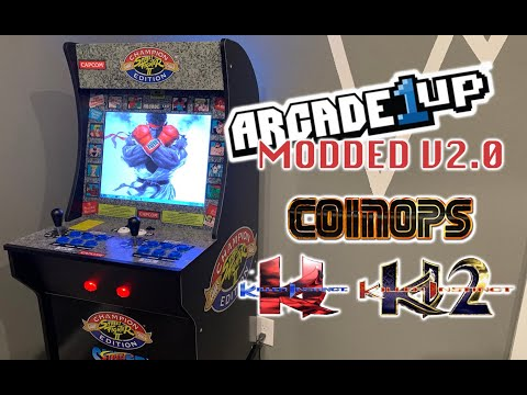 Street Fighter II Arcade1Up | CoinOps | Killer instinct (NEW UPDATED VIDEO V2.0) from Richie Ace