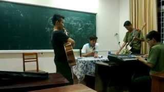 """một buổi tập luyện - ca khúc """"Gót Hồng"""""""