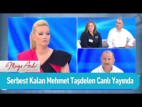 Serbest kalan Mehmet Taşdelen canlı yayında - Müge Anlı ile Tatlı Sert 9 Eylül 2