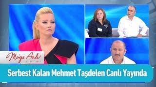Serbest kalan Mehmet Taşdelen canlı yayında - Müge