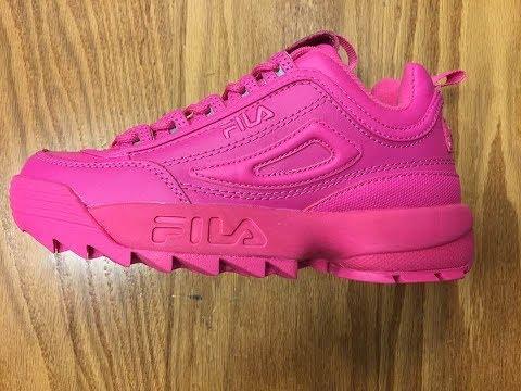 fila bright pink \u003e Up to 60% OFF \u003e In stock