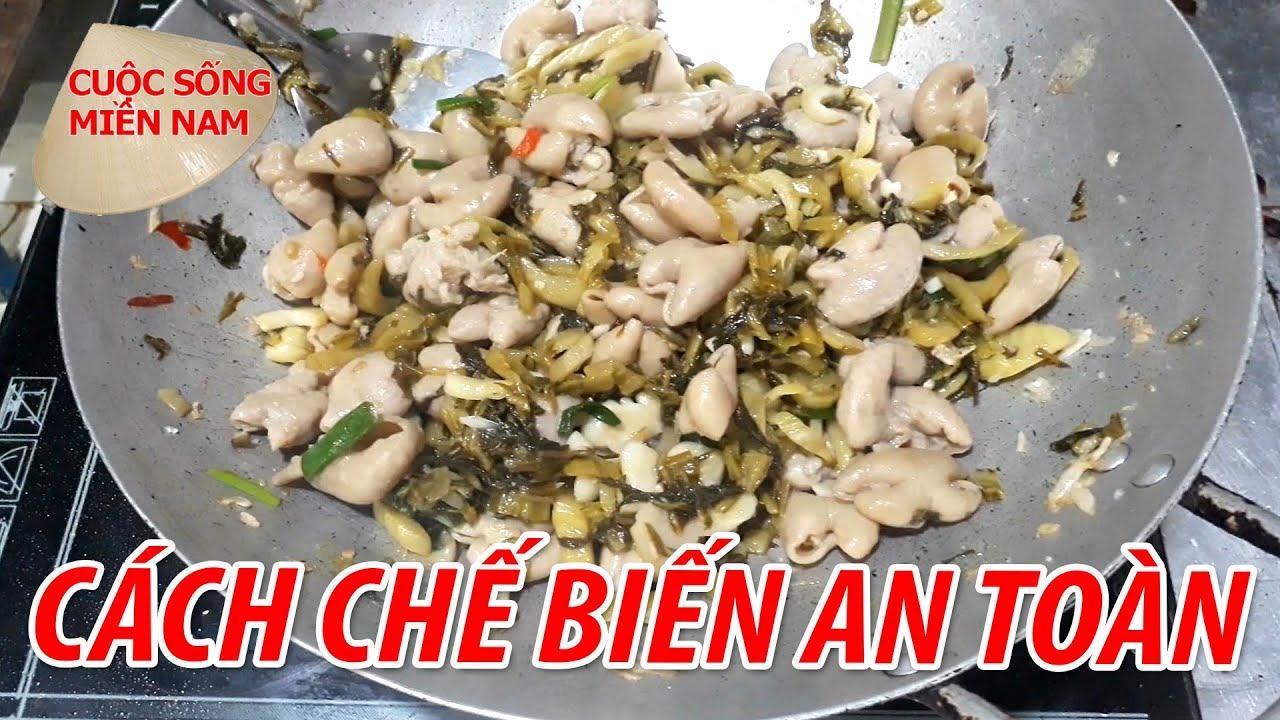 RUỘT HEO XÀO CẢI CHUA | VietNam  Food