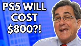 "Michael Pachter: ""The PS5 Will Cost 800 Bucks"""