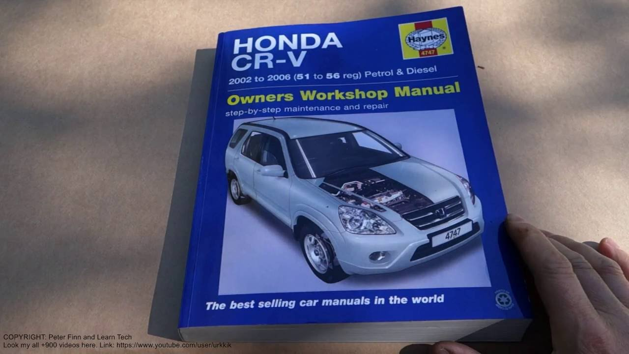 Diesel user user manuals book cars user manuals array book review honda cr v years 2002 to 2007 haynes service and rh youtube fandeluxe Image collections