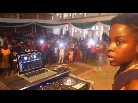 DJ Switch Ghana Foundation gifted fans of sunyani after hilarious display
