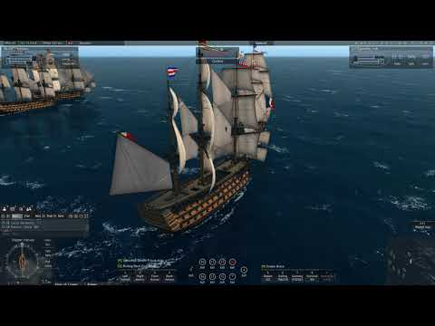 Naval Action, Large screening battle for St. Augustin. Lots of 1st Rates.