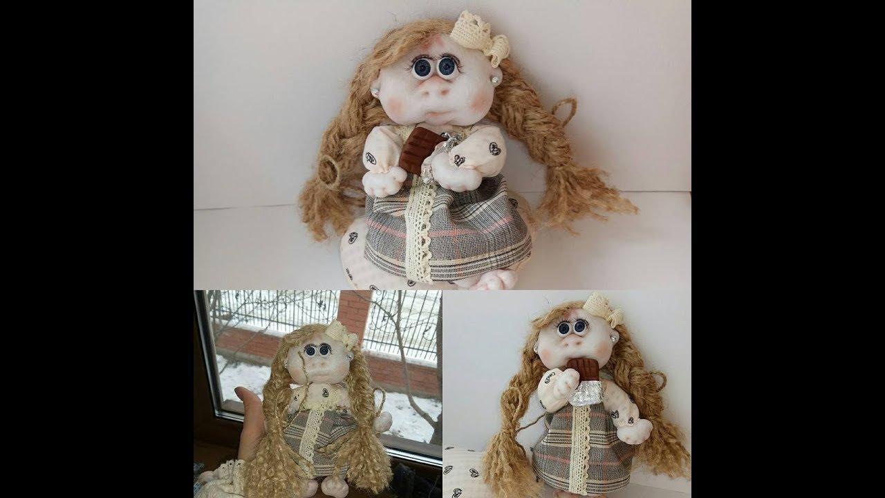 Сшить каркасную куклу из капрона