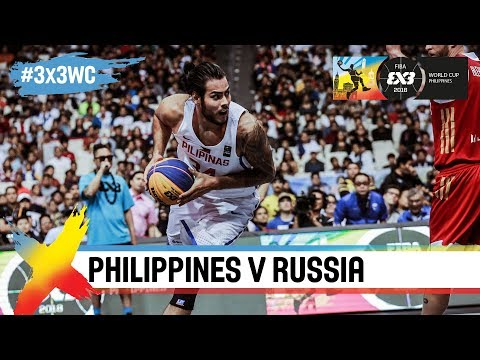 Philippines rout basketball powerhouse Russia | Full Game | FIBA 3x3 World Cup 2018