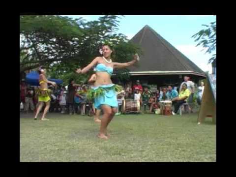Rarotonga, Cook Islands Te Hiva Nui Action song