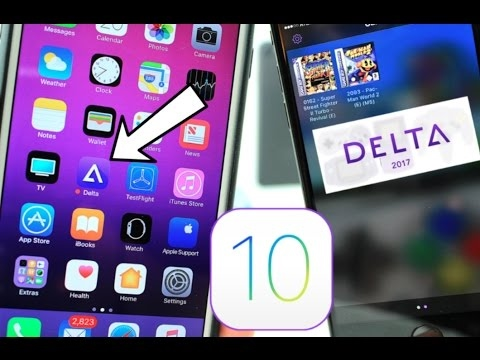 How to download delta emulator for iOS 10/11 no computer/ no ...