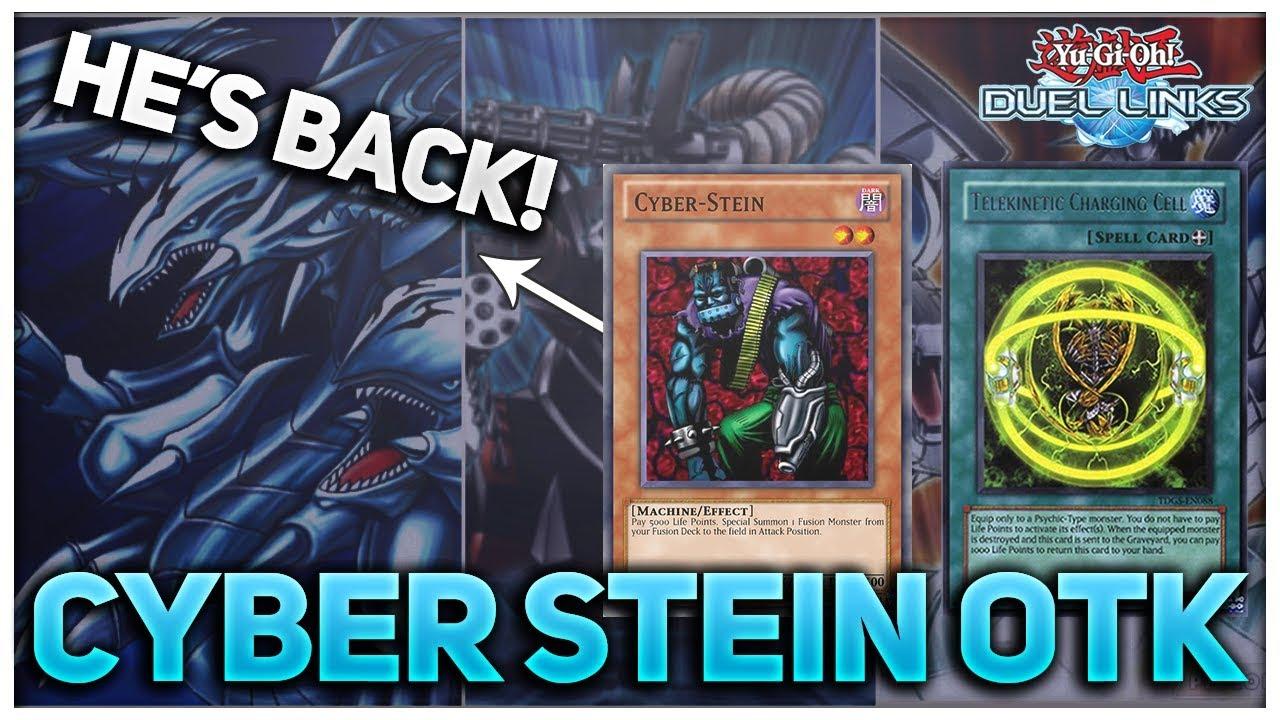 [Yu-Gi-Oh! Duel Links] Telekinetic Charging Cell - Cyber Stein OTK