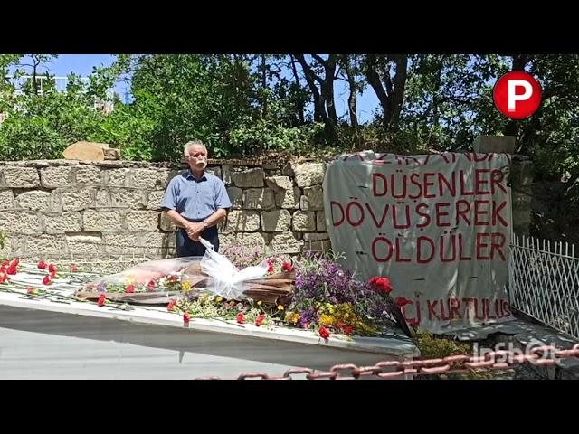 68'in önder kadrolarından Hüseyin Cevahir, Dersim'in Mazgirt ilçesinde mezarı başında anıldı
