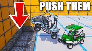 The Crash Derby Gamemode in Fortnite Creative!