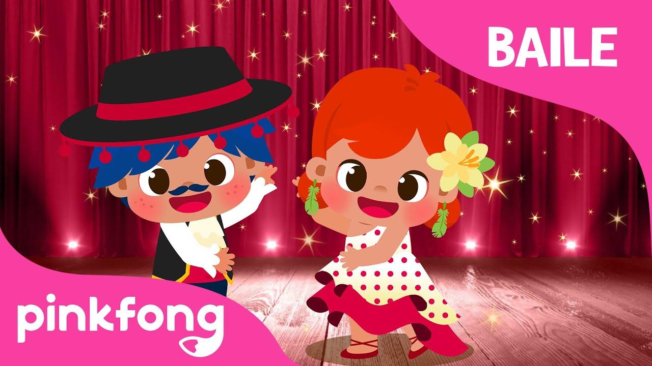 A Bailar, ¡Olé! | Canción del baile | ¡Tango, flameco y salsa! | Pinkfong Canciones Infantiles