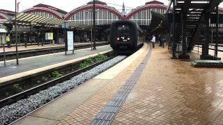 intercity tog i København mod Aalborg