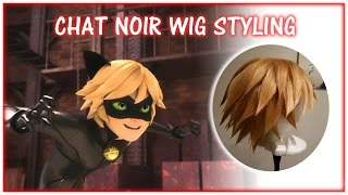 Chat Noir Wig Styling
