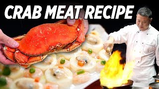How to Cook Crab Meat Tofu & Clam Shrimp Tofu • Taste The Chinese Recipes Show