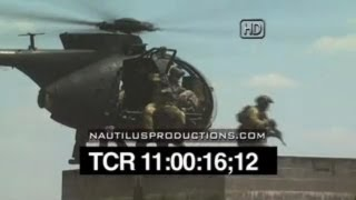 US Army Special Operations Forces Nautilus Productions HD Stock Footage Video