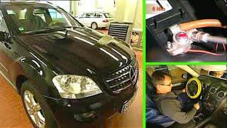 Mercedes Benz ML |  Grundprogrammierung durchführen nach Abklemmen der Batterie (W164)