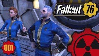Fallout 76 - #001: Durchstarten in West Virginia ☢ [Lets Play - Deutsch]