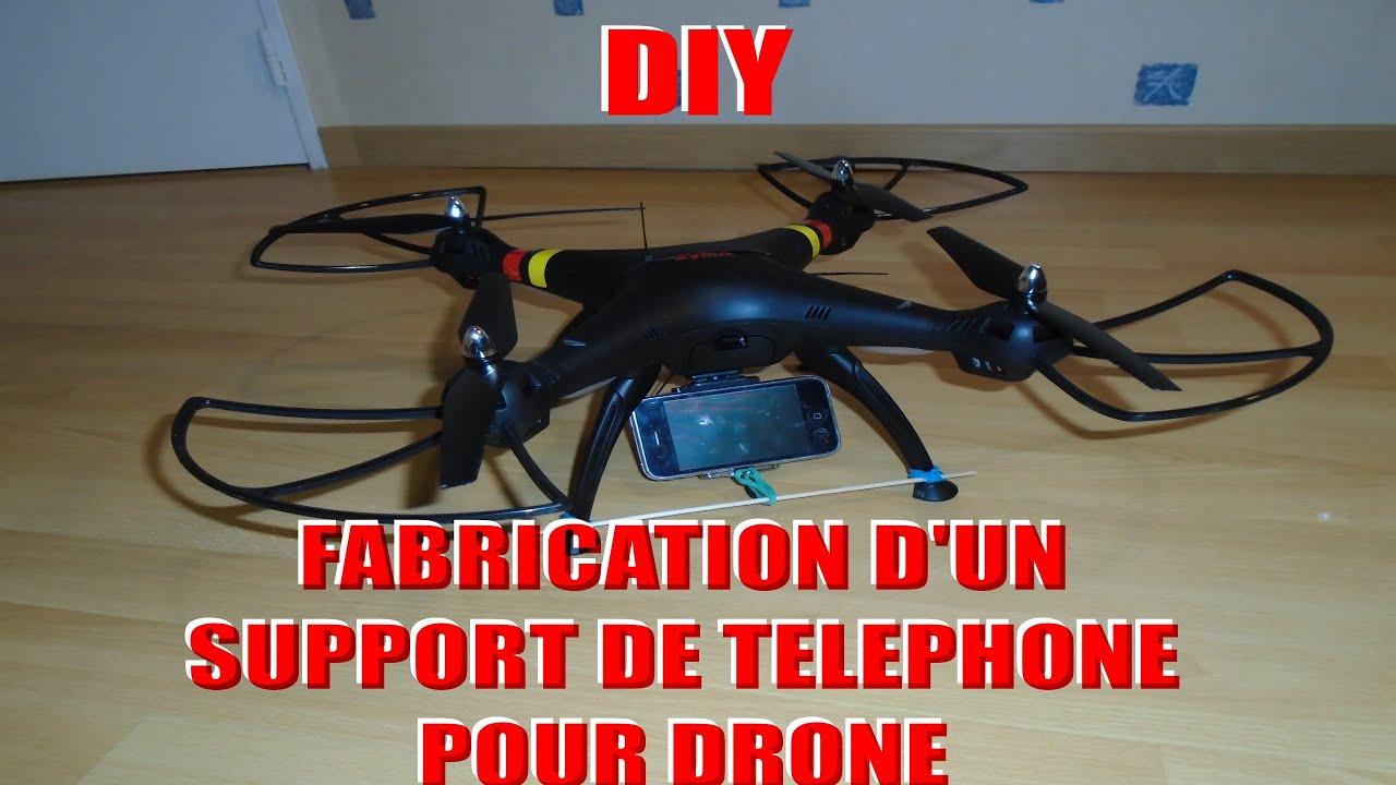 diy fabrication d 39 un support de telephone pour drone tuto hd fr by gamoniax. Black Bedroom Furniture Sets. Home Design Ideas