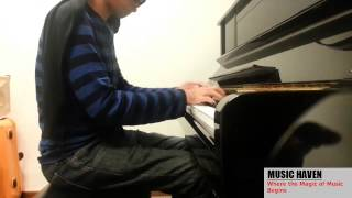 Blindfold Plays: Prelude and Fugue No. 2 in C minor (Bach - Well Tempered Clavier) BWV 847